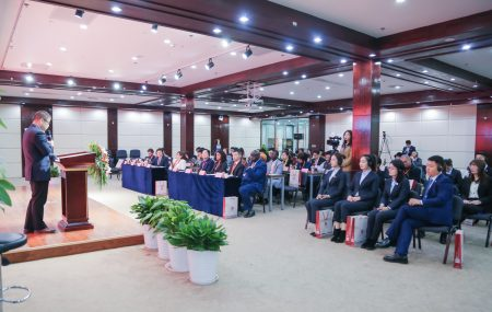 "On Sunday 17th of November 2019 the Belgium Luxembourg Gambia Chamber of Commerce – BLGCC co-organized a seminar on ""Doing Business with Gambia, Ghana and Belgium"" in Beijing, China with a focus on Belgium as a gateway to Europe and Africa within the ""one belt, one road "" initiative. With speakers of the Embassy of […]"