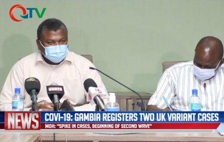 COVID19 situation in The Gambia: New quarantine and testing guidance, The Health Minister has confirmed that the Gambia has registered two cases of the UK-Variant of COVID-19: The Ministry of Health in a press release dated 5th of January 2021 informed the public that is has put in place new quarantine and testing guidance measures […]